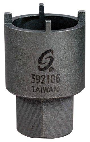 Sunex 392106 Power Antenna Nut Socket, Four-Prong
