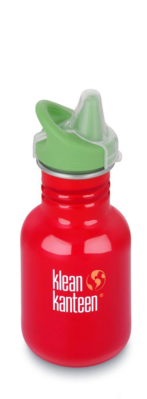 Klean Kanteen Kid's Farm House Stainless Steel Sippy Bottle, 12-Ounce