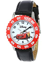 Kids' W000089 Cars Stainless Steel Time Teacher Watch