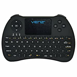venz 2 4ghz mini wireless keyboard with touchpad mouse and rechargeable battery. Black Bedroom Furniture Sets. Home Design Ideas
