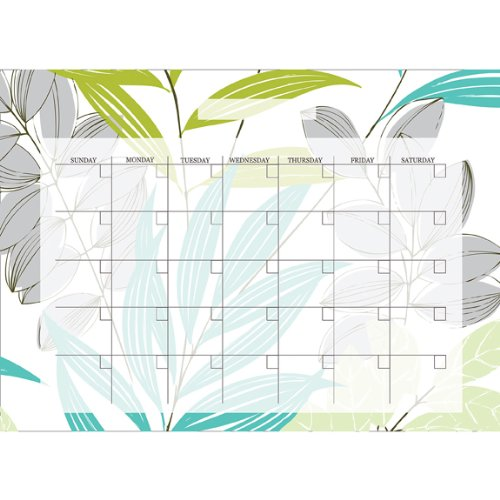 Brewster Wall Pops WPE99029 Peel & Stick Habitat Monthly Calendar with Marker