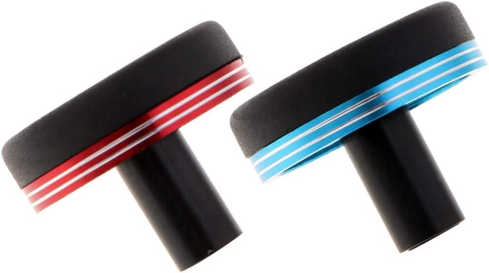 Toygogo 2X 27mm Angelrute Butt Cap End F/ür Rutenbau Oder Reparatur