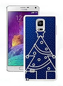 Personalized Design Christmas Tree White Samsung Galaxy Note 4 Case 17
