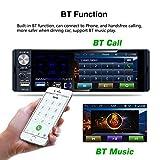 Camecho Single Din Bluetooth Car Radio