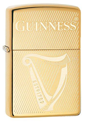 Zippo Guinness High Polish Brass Lighter