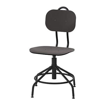 Ikea 903.255.18 Kullaberg - Silla giratoria, Color Negro: Amazon.es ...