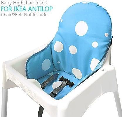 ZARPMA bebe Cojines para de Ikea Antilop Trona ,Lavable, Plegable ...
