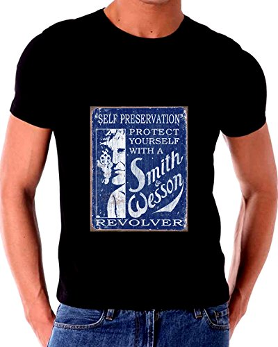 Smith and Wesson Old Tin Sign T shirt