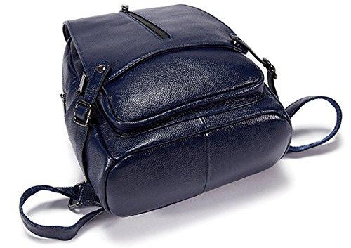 Dos à Voyage Mme Dos Sac blue Sac En à Simple Bag De Sac Cadeau à Dos Joy Cuir Noël Yrq0gY1