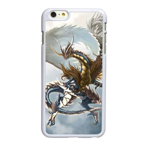 H4R77 Dragonnier H6E1MC coque iPhone 6 Plus de 5,5 pouces cas de couverture de téléphone portable coque blanche DC2XMD1ME
