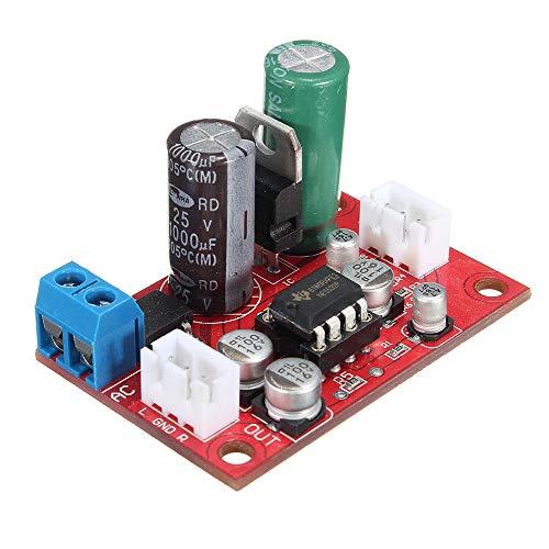 (Moonvvin DC 9-24V AC 8-16V NE5532 Audio OP AMP Microphone Preamps Pre-Amplifier Board )