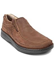 Drew Shoe Mens Bexley Leather, Polyurethane Loafers