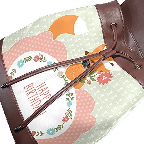 Mochila Dragonswordlinsu Para Mujer Talla Bolso Multicolor Única Piel De BR5wFRqv