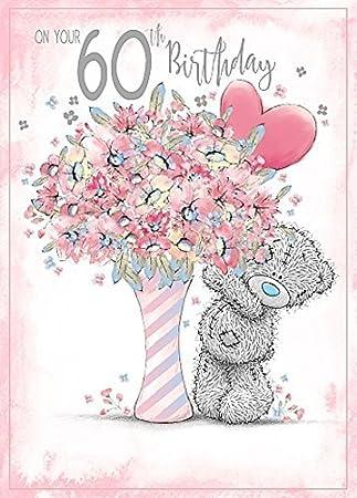 Un très joyeux anniversaire Me To You Carte Blanche Tatty Teddy Carte D/'Anniversaire