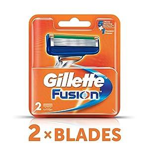 Gillette Fusion Shaving Blades- Pack of 10 (Cartridges)