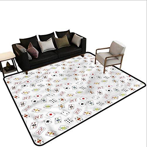 Casino,Front Mat Home Decorative Carpet 64