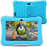[Upgraded] Dragon Touch Y88X Plus Kids Tablet, 7 inch Display, Kidoz Pre-Installed with Disney Content (More Than $80 Value) (Android 7.1 OS) Blue