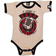 Sourpuss Johnny Cash Daddy Sang Bass One Piece 3-6M