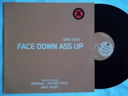 ass music down Face up