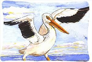 Bird - Pelican Decorative Fabric Pillow
