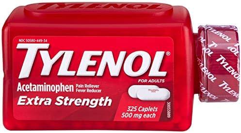 TYLENOL Extra Strength 500mg - 325 caple…