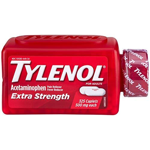- 325 - 500 mg caplets - Tylenol Extra Strength Caplets - 325 ct.