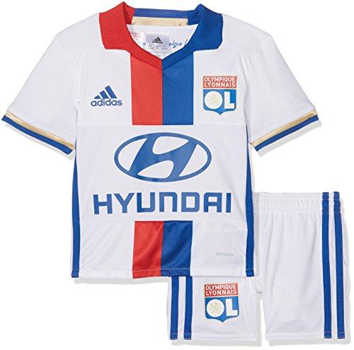 White Lyon Royal red Adidas 16 Unisex Blanc Royal Club Mini bleu Ol Olympique De Vetêments collegiate collegiate Pour H Enfants 2015 Première Ensemble rouge white RqzUR