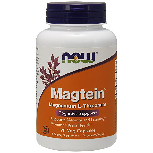 NOW Magtein,90 Veg Capsules by NOW Foods