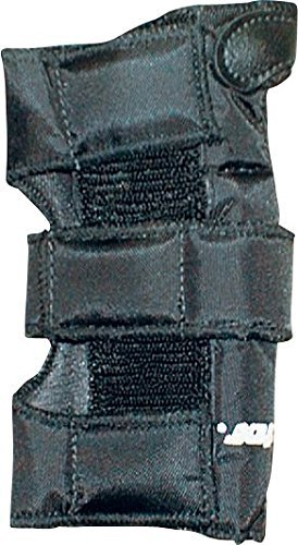 Rector 8101-8-00-0 Performer Wrist Guard, Nylon Fabric, Large, Black (Pack of 2) by Rector