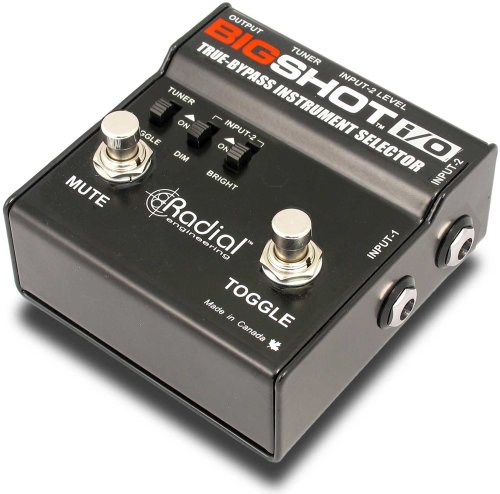 - Radial BigShot I/O True-bypass Instrument Selector
