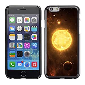 Planetar® ( Solar Fire Energy ) Apple iPhone 6 / 6S (4.7 inches!!!) Fundas Cover Cubre Hard Case Cover