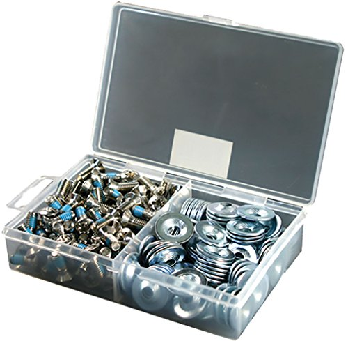 Demon 16MM Snowboard Binding Hardware- 100pcs w/Washers by Demon