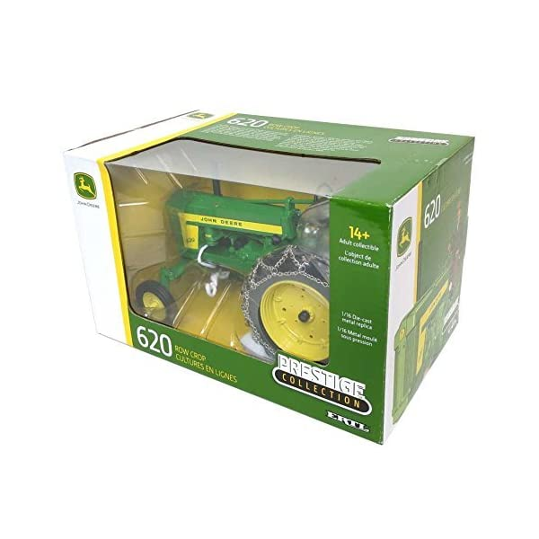 TOMY 1/16th Prestige Series John Deere 620 with Chains 45544 4