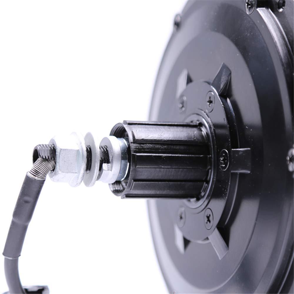Bafang ebike Black 36V 48V 500W Cassette or Thread on Rear Brushless Geared Hub Motor for Rear Wheel Electric Bike Conversion Kits