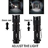 5 Pack Mini Flashlights LED Flashlight 300lm