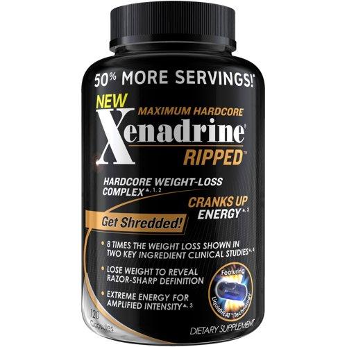 Ripped Xenadrine, 120 Capsules