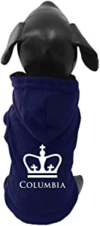 product image for All Star Dogs NCAA Columbia Lions University Cotton Lycra Hooded Dog Shirt