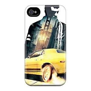 Touching Rhythms Case Cover Protector Specially Made For Iphone 4/4s 2011 Driver San Francisco Game