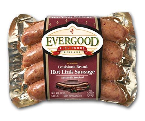 Louisiana Grills Evergood Sausages Beef Louisiana Hot Lin...