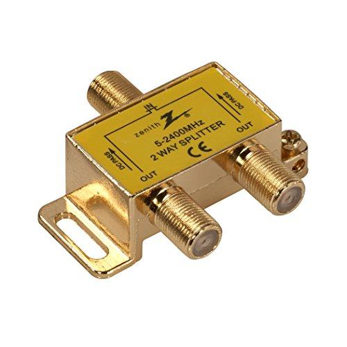 AmerTac - Zenith VS3001SP2W TwoWay Coax Splitter 2.4GHz