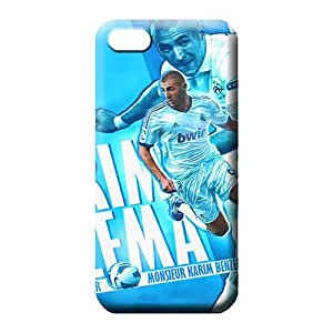 MMZ DIY PHONE CASEiphone 5c Collectibles High Quality Durable phone Cases cell phone carrying skins real madrid karim benzema the pride of the france