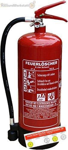Feuerlöscher-Tauschsystem Schaumfeuerlöscher