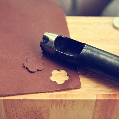 1 piece Big 24mm Blossom shap hole hollow cutter punch Die handmade leathercraft DIY tool
