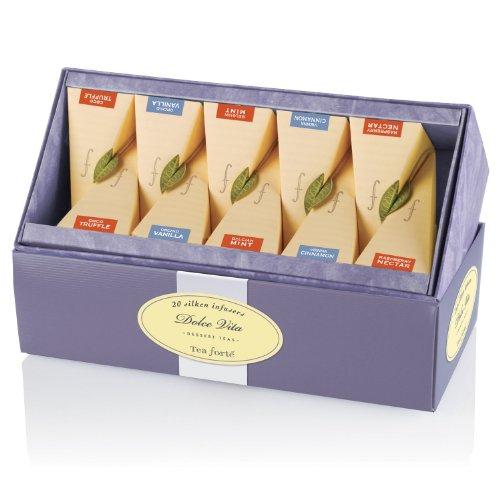 Tea Forte Ribbon Box