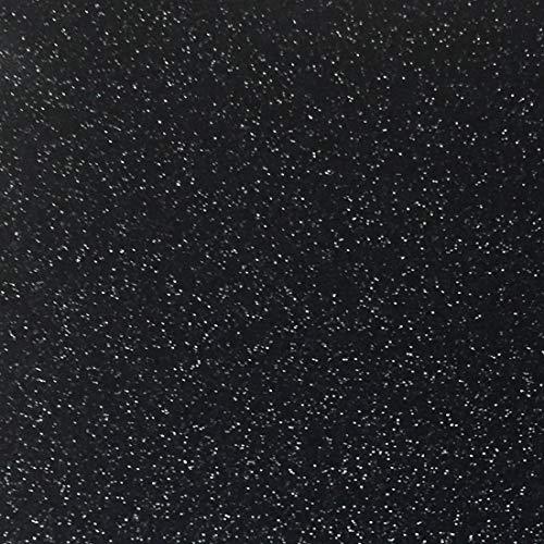 Black Glitter Cardstock - 10 Sheets Premium Glitter Paper - Sized 12