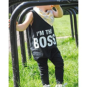 FEITONG Newborn Toddler Infant Baby Boy Girl Romper Outfits Clothes