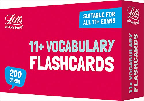 11+ Vocabulary Flashcards (Letts 11+ Success) (Best 11 Plus Practice Papers)