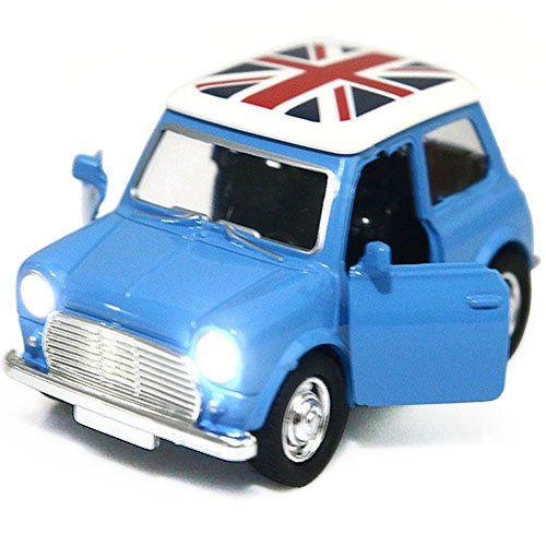 Toy Diecast Car Play Vehicles, Pull Back Action with Lights and Sounds 1:38 - iPlay, iLearn (Blue) (Cute Construction Worker Costumes)