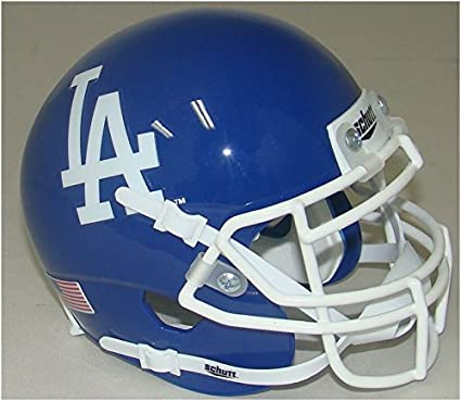 Amazon.com: Schutt Los Angeles Dodgers - Casco de fútbol ...