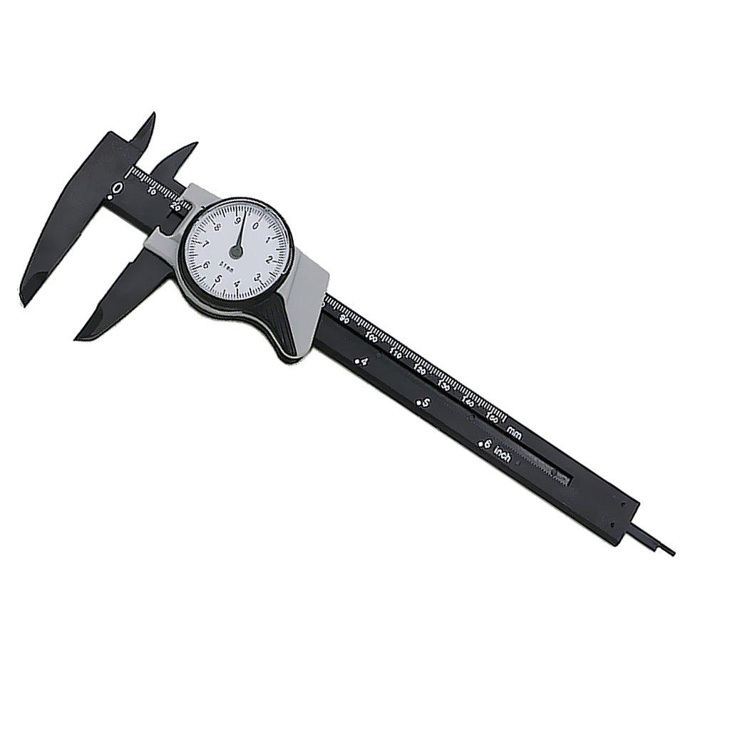 Baosity Dial Caliper Vernier Caliper Gauge Micrometer Tester Measuring Tool 150mm